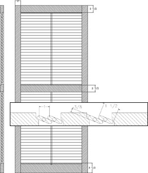 Louver 1 1/2 Operable