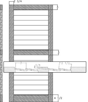Louver 3 1/2 Operable