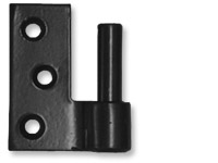 Jamb Leaf Pintles; Mortise Jamb Mount