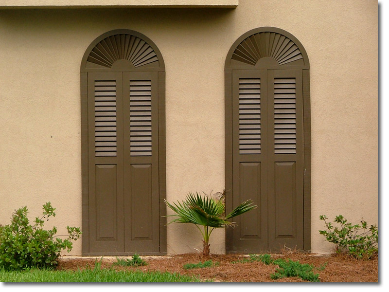 Sunburst doors