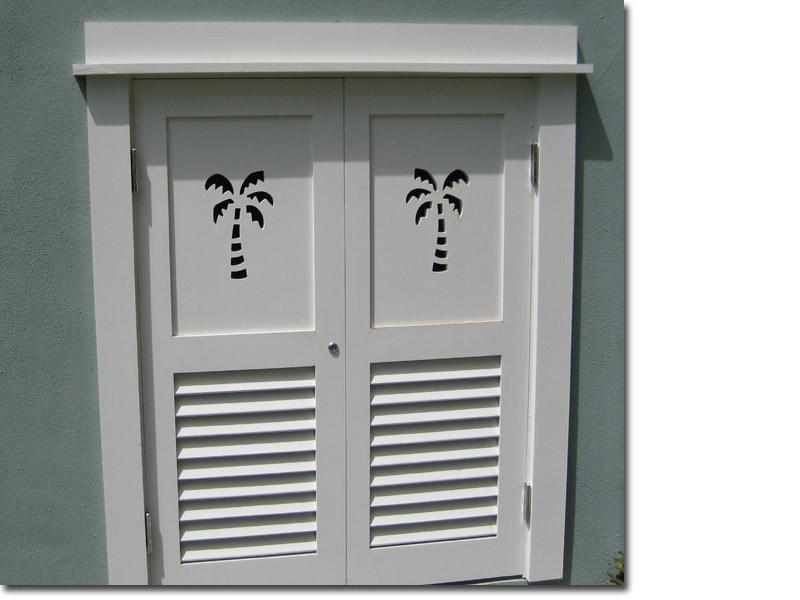 Custom Combination with Palm Tree cutouts