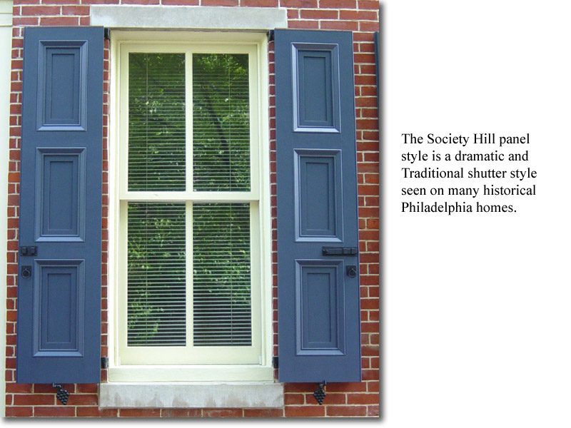 Society Hill window view