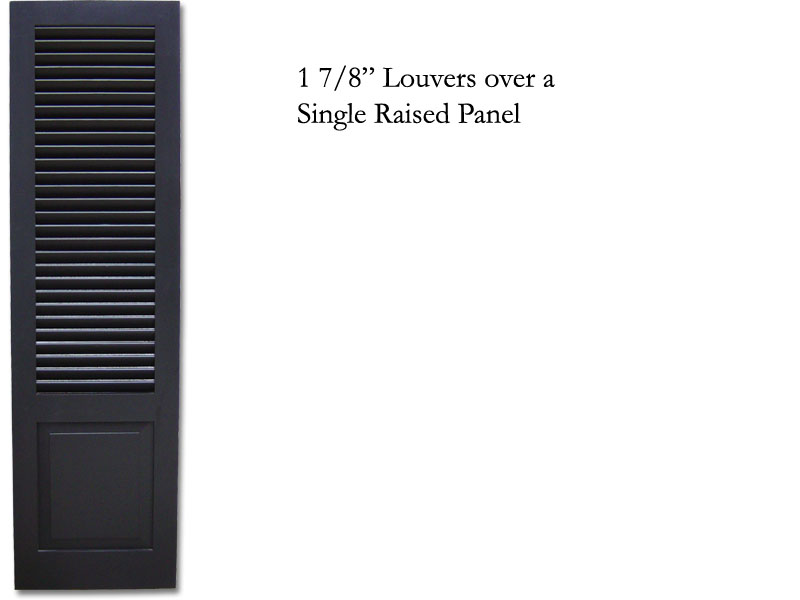 1 7/8 in. Single Raised  Panel Combination