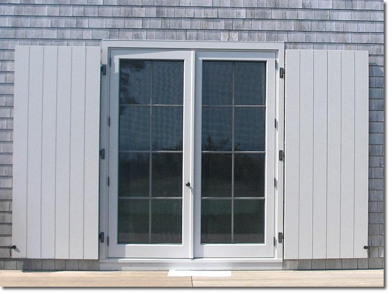 Board & Batten Grand doors open