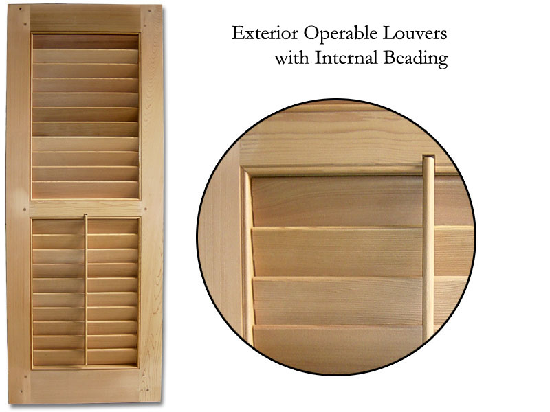 Ellis 2 1/2 with operable louver