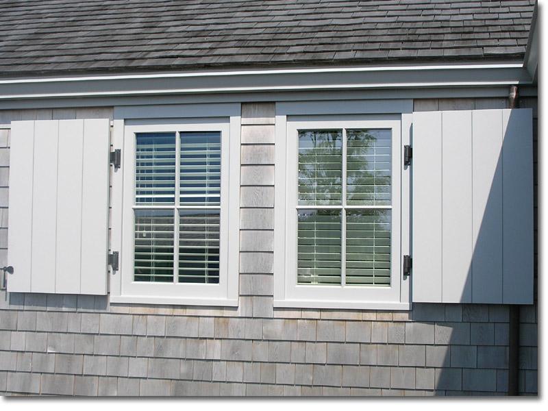 Board & Batten Grand windows open