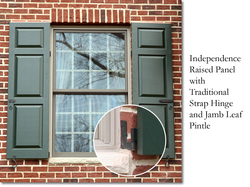 Independence Jamb Leaf pintle